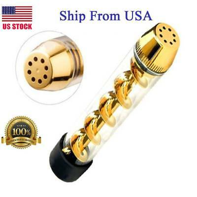 Windproof Tank 510 Tobacco Pipe Smoking Cigarette Cigar Glass Pipes Holder Gift