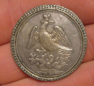 Mexico - 1822 Silver 4 Reale Proclamation (Iturbide)