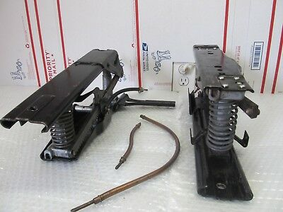 POWER SEAT TRACKS WITH 4 CABLES 60'S CHRYSLER IMPERIAL 66Ci1-9B2