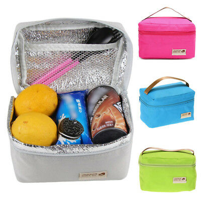 Childrens Kids Lunch Bags Insulated Cool Lunch Bag Picnic Bags School Lunchbox
