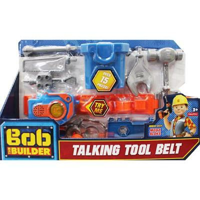Bob The Builder Talking Tool Set Belt with Sounds Kids Toys Boys Fisher Price