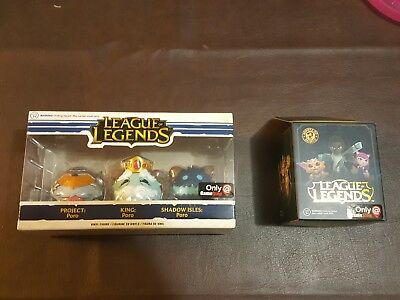 Funko League of Legends Poro 3-pack GameStop Exclusive and Mystery Box