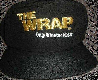 Winston Advertising Baseball Cap The Wrap  New