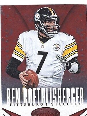 Ben Roethlisberger 2014 Panini Certified, Camouflage, Football Card !!
