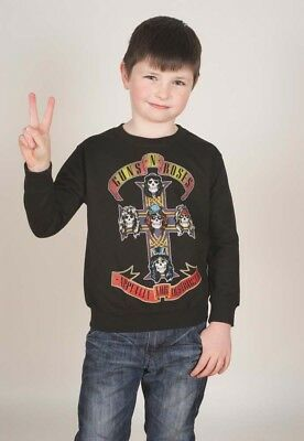 NEW Guns N' Roses Kids Youth's Fit Sweatshirt: Appetite for Destruction (3 - 4 Y