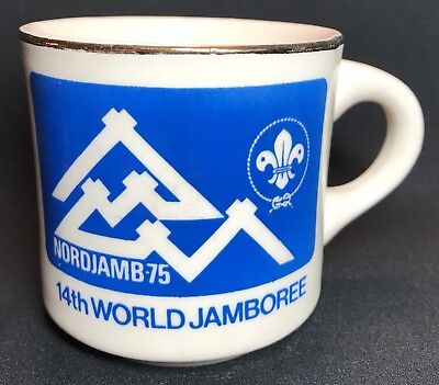 Vintage Boy Scout Cup Nordjamb 1975 14th World Jamboree