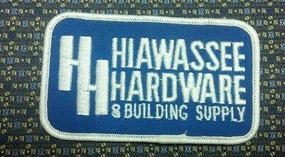 HIAWASSEE HARDWARE & BUILDING SUPPLY (HH) Iron or Sew-On Patch