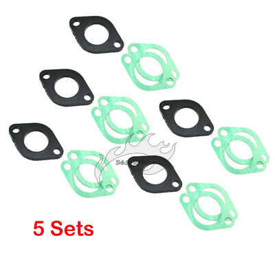 23mm Intake Manifold Gasket For Chinese GY6 125 150cc Moped Scooter ATV Go Kart