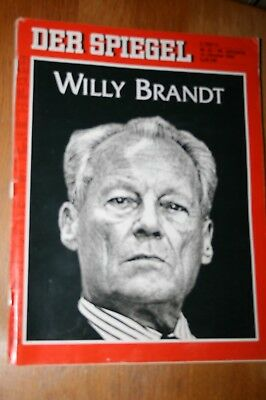 SPIEGEL NR. 42 v. 12.10.1992 - WILLY BRANDT