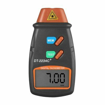 LCD Digital Laser Photo Tachometer Non Contact RPM Tach Meter Speed Gauge Tester