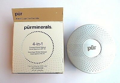 Pur Minerals Pressed Mineral Make Up 4 -in -1Pressed Mineral Makeup 8g light tan