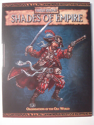 Warhammer Fantasy Roleplay: shades of empire, organisations of the old world