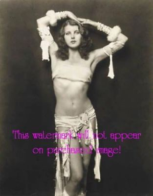 Details about  Old VINTAGE Antique Glamorous Gorgeous BELLY DANCER Photo Reprin