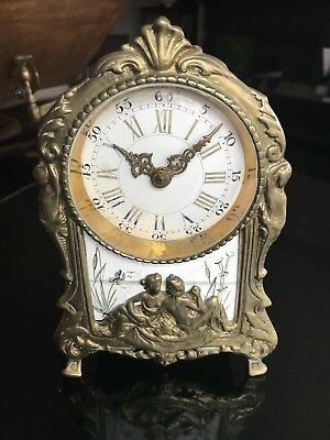Brass Antique Carriage Clock