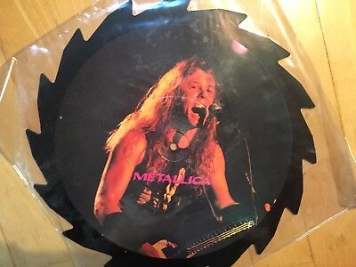 METALLICA - Interview Picture Disc Limited Edition UK, Vinyl, Shape Disc