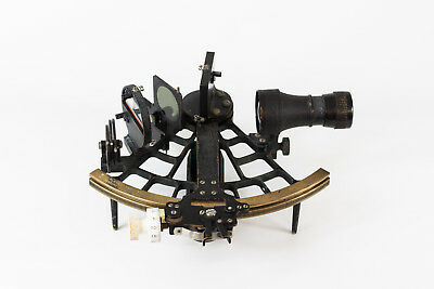 original Sextant C. Plath Hamburg in Holzkiste RAR maritim Antik Navigation