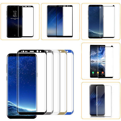 Samsung Galaxy Note 8/S8 S8 Plus  3D Full Curved Tempered Glass Screen Protector