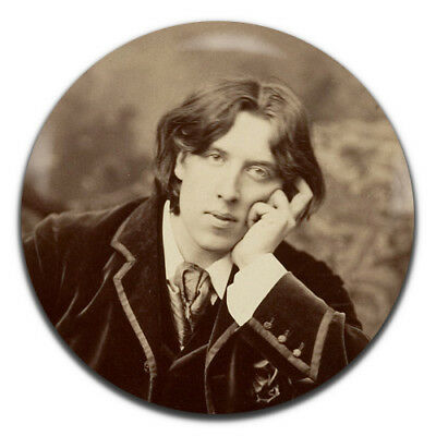 Oscar Wilde Writer Author 25mm / 1 Inch D Pin Button Badge