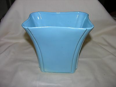 Perfect Vintage Camark Pottery Planter 226 Turquoise Blue