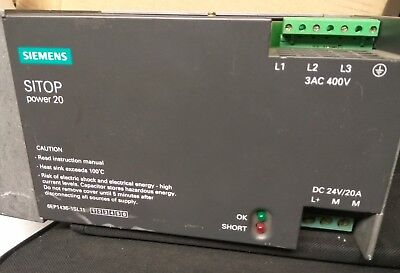 Siemens Sitop Power 20  (1P 6EP1436-1SL11)