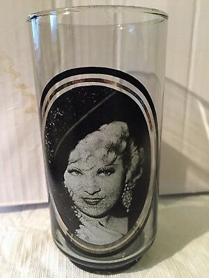 Arbys Take 4 Of 6 Collector Series Glass Mae West
