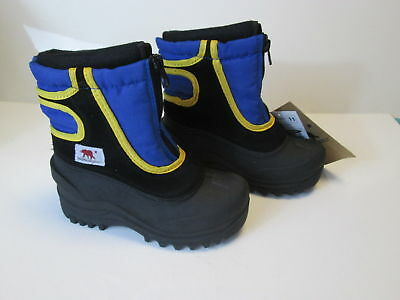 Dakota Grizzly Boys Snow Stomper Waterproof Winter Snow Boots Size Toddler 11