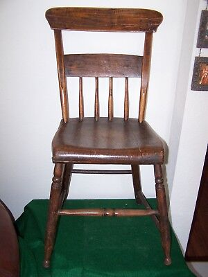 ANTIQUE  Bent Back  FARMHOUSE CHAIR #2