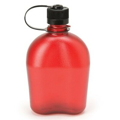NEW Nalgene Narrow Mouth OASIS Water Bottle Canteen RED