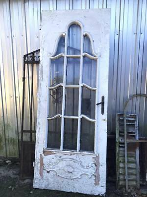 Antique Architectural Salvage Gorgeous Detailed Victorian Angel Door