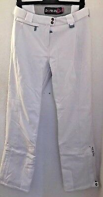 Ladies Stunning DARE 2b White Ski Trousers / Pants Excellent Condition Size 12