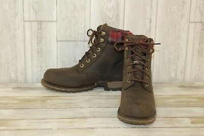 another chance clearance sale uk store CATERPILLAR KENZIE STEEL Toe Boots - Women's Size 8.5, Bark ...