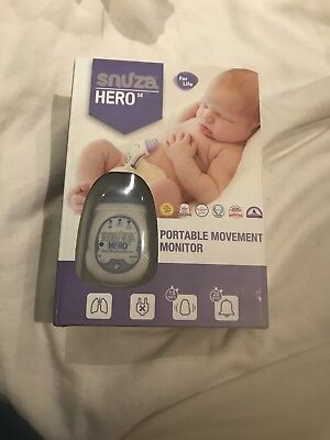 Snuza hero Portable Movement Monitor Brand New