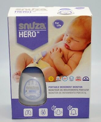Snuza Hero SE baby movement monitor B170504238 New Factory Sealed