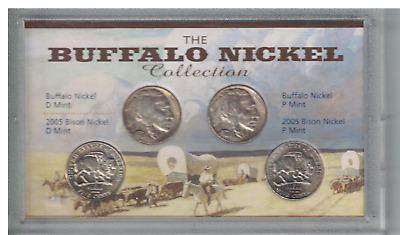 United States The Buffalo Nickel Collection P & D