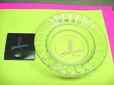 STRATOSPHERE CASINO Las Vegas, NV Ashtray & Matchbook VINTAGE