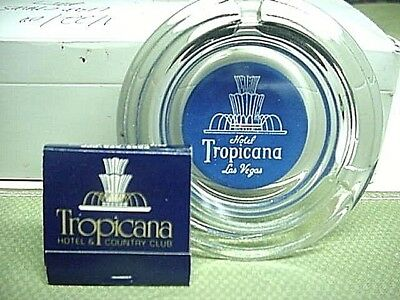 TROPICANA CASINO Las Vegas Ashtray & Matchbook VINTAGE...VERY RARE !