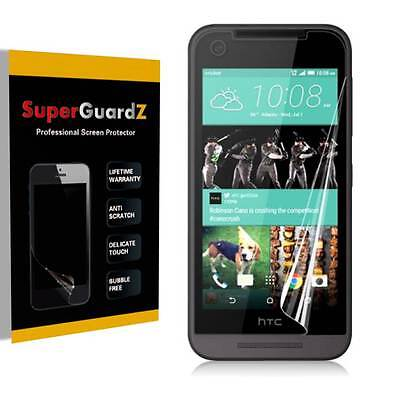 4X SuperGuardZ HD Clear Screen Protector Shield Guard Armor For HTC Desire 520
