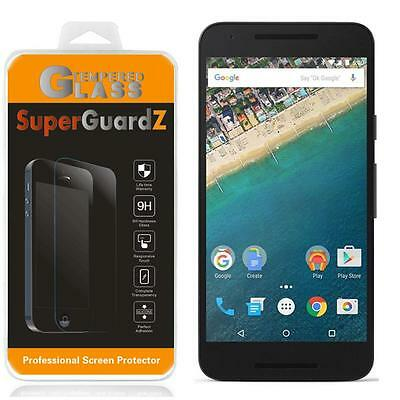 2X SuperGuardZ Tempered Glass Screen Protector Shield Guard For LG Nexus 5X