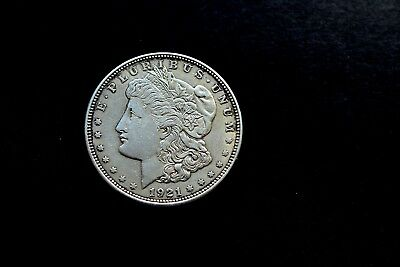 1921 Morgan Silver Dollar, High Grade Nice Condition Coin