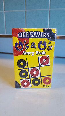 Lifesavers Tic Tac Toe Story Book  With Licorice & Cherry Life Savers