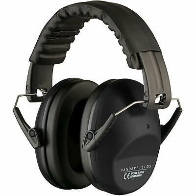Ear Defenders Headphones 125dB Highest NRR Safety Muffs Shooting Protector Grey