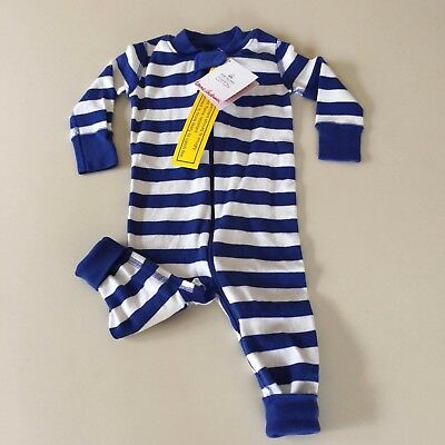 HANNA ANDERSSON  Awesome Baby Boys STRIPED Pajama, 3-6 months, 60 cm New!!