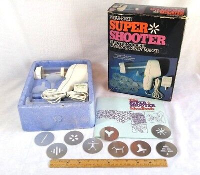 UNUSED Wear-ever Super Shooter Cookie Press - #70001 - Opened, Never Used