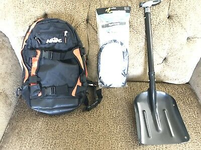 NEW HMK Backpack, Survival Shovel, and 3L Hydration pack