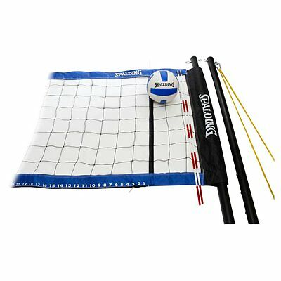 Spalding Professional Volleyball Set, Blue, 1
