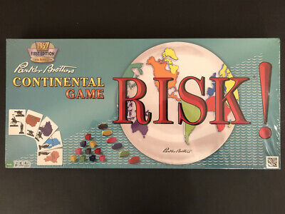 """SEALED 1959 Reissue  """"RISK"""" Board Game, Parker Brothers, Continental 2013 Hasbro"""