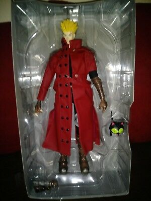 "Toycom TRIGUN VASH THE STAMPEDE  Figure Red 12"" Japanese import lose"
