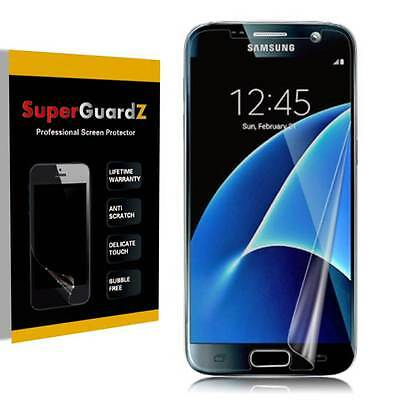 3X SuperGuardZ Clear [FULL COVER] Screen Protector Shield For Samsung Galaxy S7