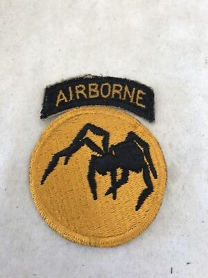WW2 Original 135th Airborne Ghost Division Patch