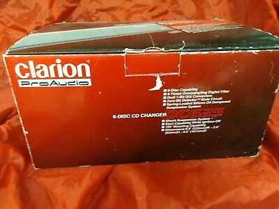 clarion pro audio dc625 new old stock